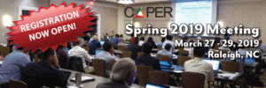 http://caper-usa.com/caper-events/spring-2019-meeting/